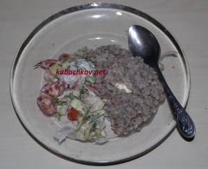 салат с кашей