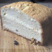 Кекс простой и вкусный в хлебопечке.