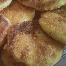 Зразы картофельные с начинкой.